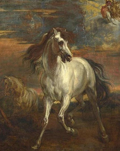 Anthony Van Dyck Horse Painting by Numbers