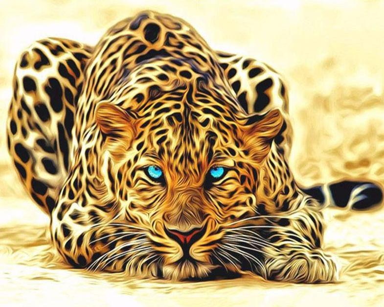 Leopard DIY Painting Kit