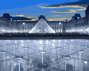 Louvre Museum Paint by Numbers