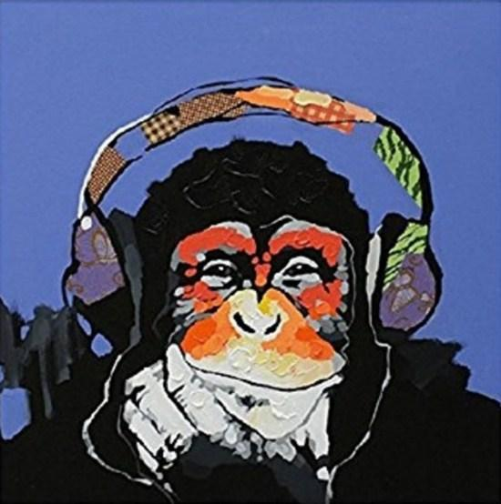 Music Gorilla Paint by Numbers