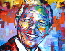 Load image into Gallery viewer, Nelson Mandela Portrait Paint by Numbers
