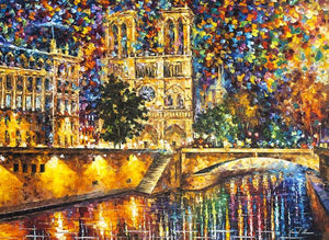 Notre Dame Cathedral Paint by Numbers