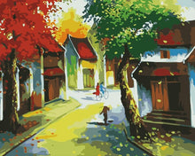 Load image into Gallery viewer, Old town Hanoi Paint by Numbers