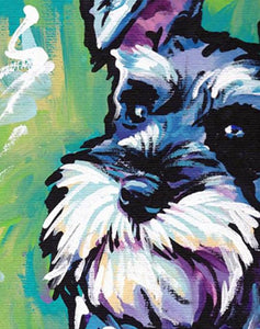 Schnauzer Paint by Numbers