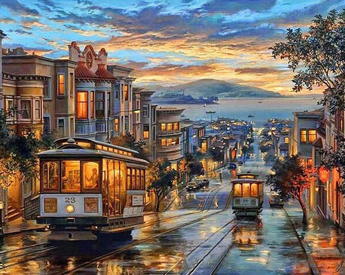 San Francisco Paint by Numbers