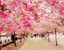 Load image into Gallery viewer, Cherry Blossoms Paint by Numbers