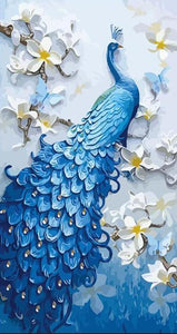Peacock Painting by Numbers