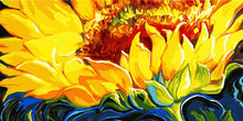 Load image into Gallery viewer, Yellow Sunflower Paint by Numbers