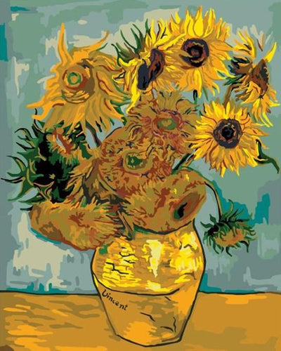 Sunflowers Paint by Numbers Kit