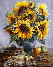 Load image into Gallery viewer, Sunflowers DIY Painting Kit
