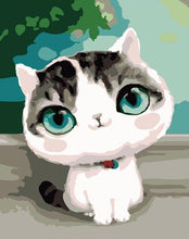 Load image into Gallery viewer, Sweet Little Cat Paint by Numbers