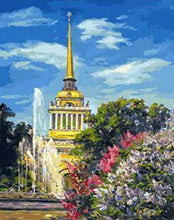 Load image into Gallery viewer, The Sky is Blue Over Russia Painting Kit