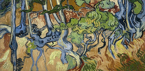 Tree Roots Large Paint by Numbers