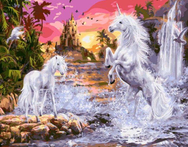 Unicorns in Fantasy Land Painting Kit