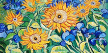 Load image into Gallery viewer, Sunflowers Large Paint by Numbers