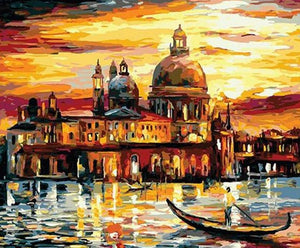 Venice City Paint by Numbers