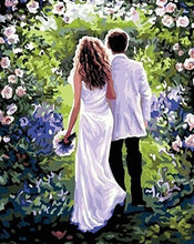 Load image into Gallery viewer, Wedding Couple Painting by Numbers