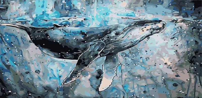 Whale Painting by Numbers