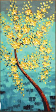 Load image into Gallery viewer, Yellow Floral Art Paint by Numbers