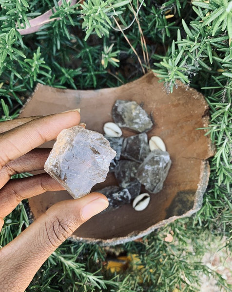 Smoky Quartz Natural Raw Crystal - Brazilian