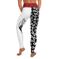 Royal Shield II - Women's Yoga Leggings-Zulu Moon Market