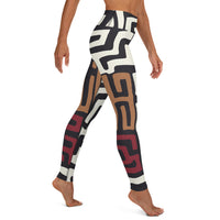 Mud Cloth - Leggings-Zulu Moon Market
