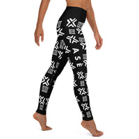 Ase Mudcloth - Yoga Leggings-Zulu Moon Market