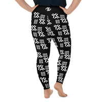 Ase - Plus Size Leggings-Zulu Moon Market