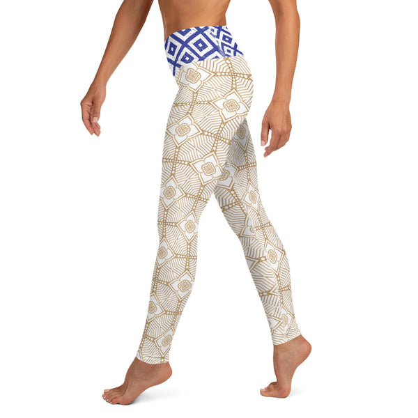 Flow - Women's Yoga Leggings-Zulu Moon Market