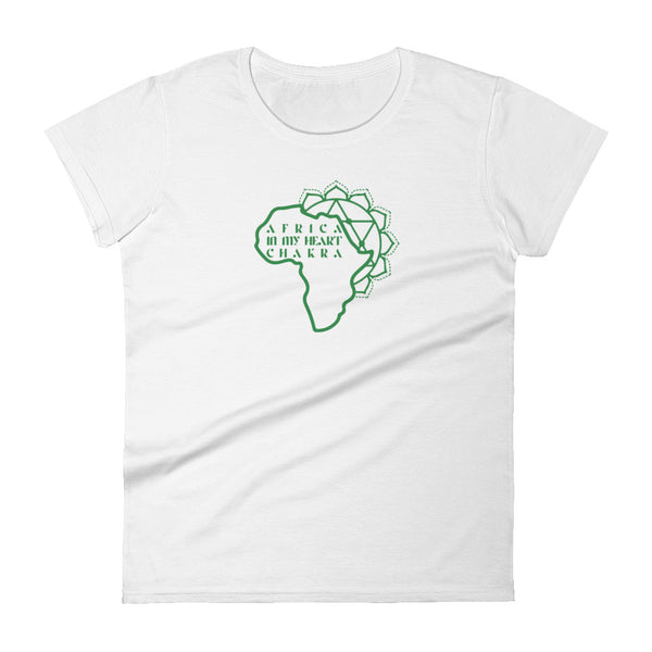 Heart Chakra | Africa in my Heart - Women's T-shirt