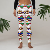 Ndebele - Leggings-Zulu Moon Market