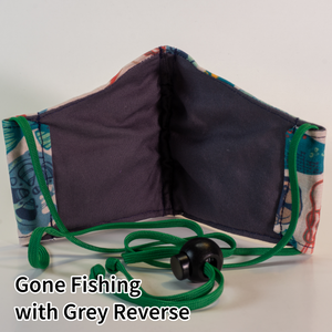 Gone Fishing with Grey Reverse - Kid Size