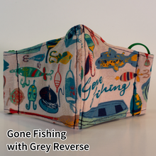 Load image into Gallery viewer, Gone Fishing with Grey Reverse - Kid Size