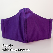 Load image into Gallery viewer, Purple with Grey Reverse - Tween/Adult Small Size