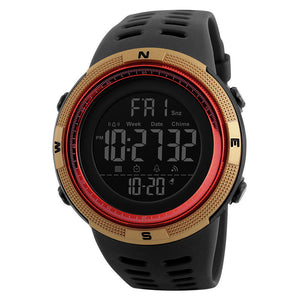 SKMEI 1251 Countdown Double Time Digital Watch Men Chronograph Electronic Sport Watch - DealsNode