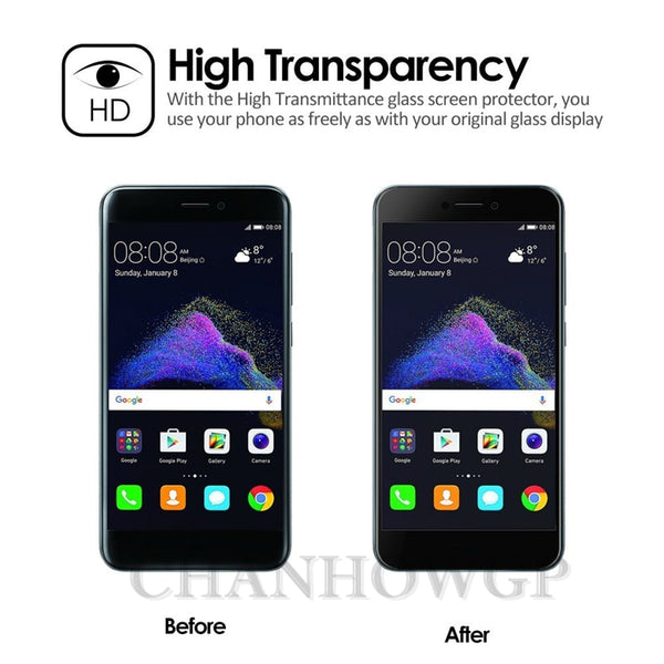 Full Tempered Glass Screen Protector For Huawei Nova and Nova Plus - DealsNode