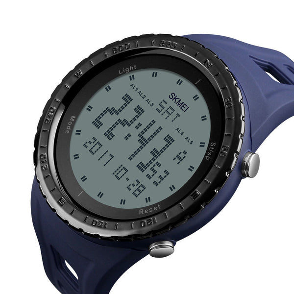 SKMEI 1246 Outdoor Alarm Chronograph Double Time Swimming Sport Men Digital Watch - DealsNode
