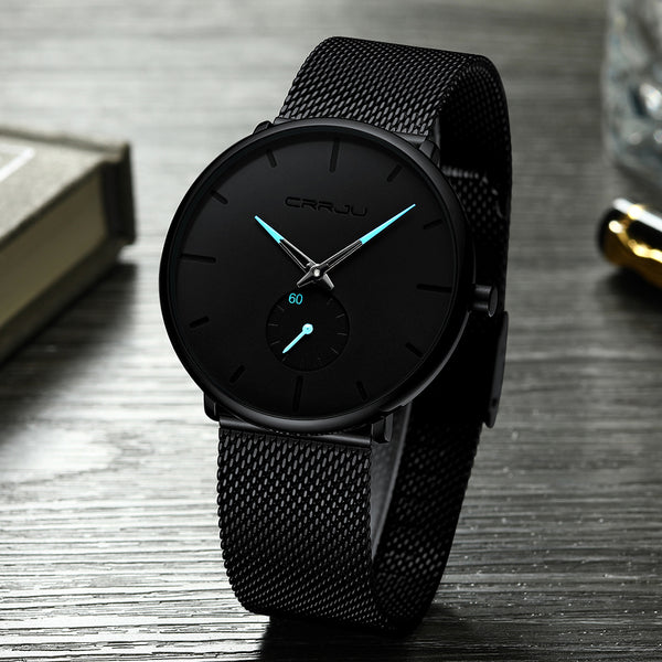 CRRJU Simple Dial Bright Watch - DealsNode