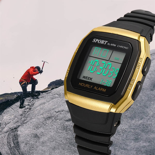 Digital watch men Multi-Function Sports Life Waterproof Watch - DealsNode