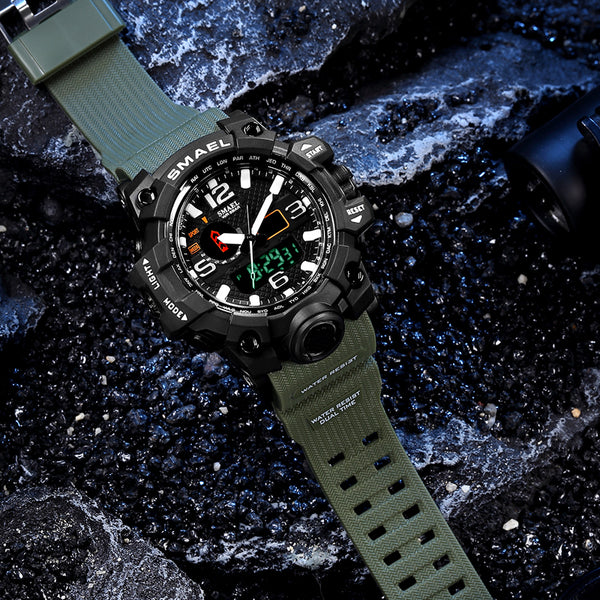Men Military Watch 50m Waterproof Watch - DealsNode