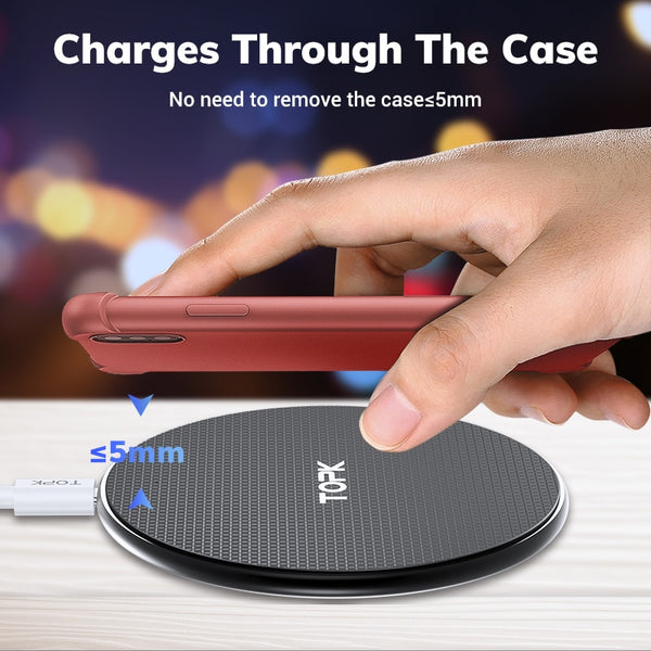 Fast Charging Wireless Charger for Smarthpones - DealsNode
