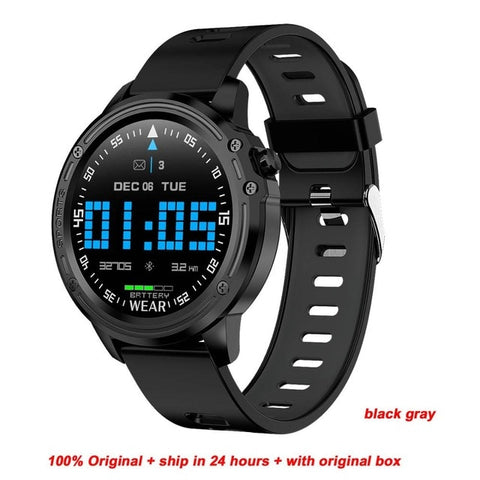 Greentiger New L8 Smart Watch Men ECG + PPG IP68 Waterproof Blood Pressure Heart Rate Fitness Tracker sports Smartwatch VS L5 L7 - DealsNode