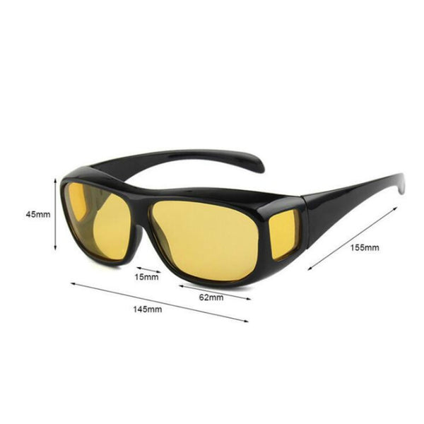 Car Night Vision Driver Goggles Polarized Sunglasses Unisex HD Vision Sun Glasses Eyewear UV Protection Car Driving Glasses - DealsNode