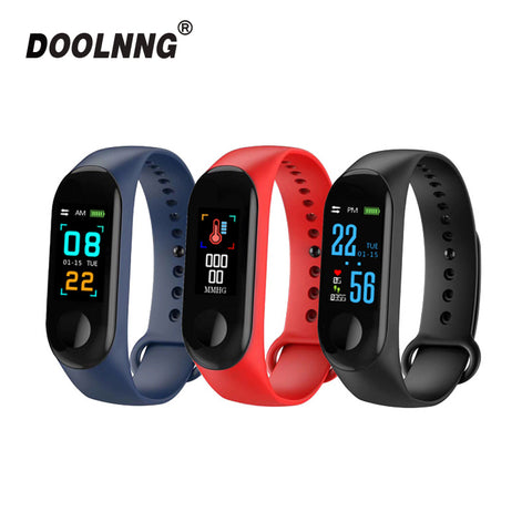 Sport Fitness tracker Watch Smartband Smart Bracelet Blood Pressure Heart Rate Monitor Smart band Wristband Men For Android iOS - DealsNode