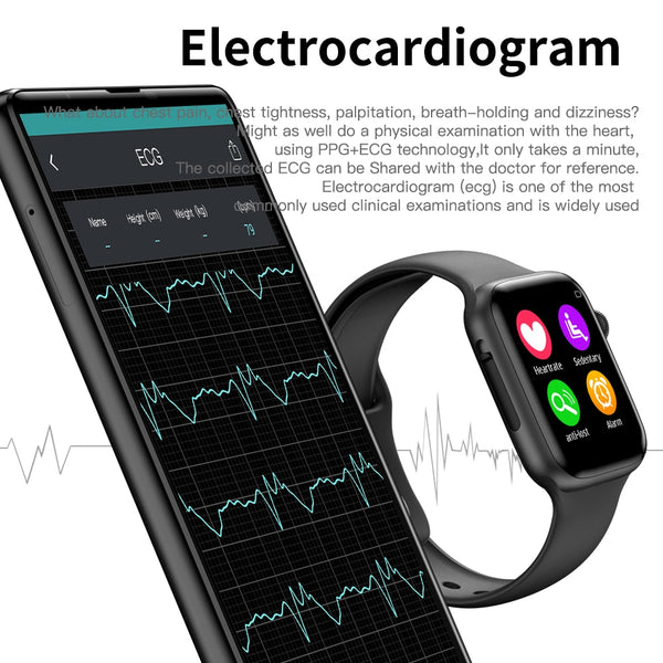 COXANG iwo 8 Lite/ecg ppg smart watch men Heart Rate iwo 9 smartwatch iwo 8 /iwo 10 Smart Watch for women/men 2019 for Apple IOS - DealsNode