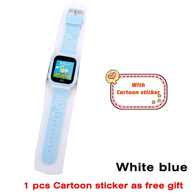 Greentiger Q02 Children Smart Watch Camera Lighting Touch Screen Watch - DealsNode