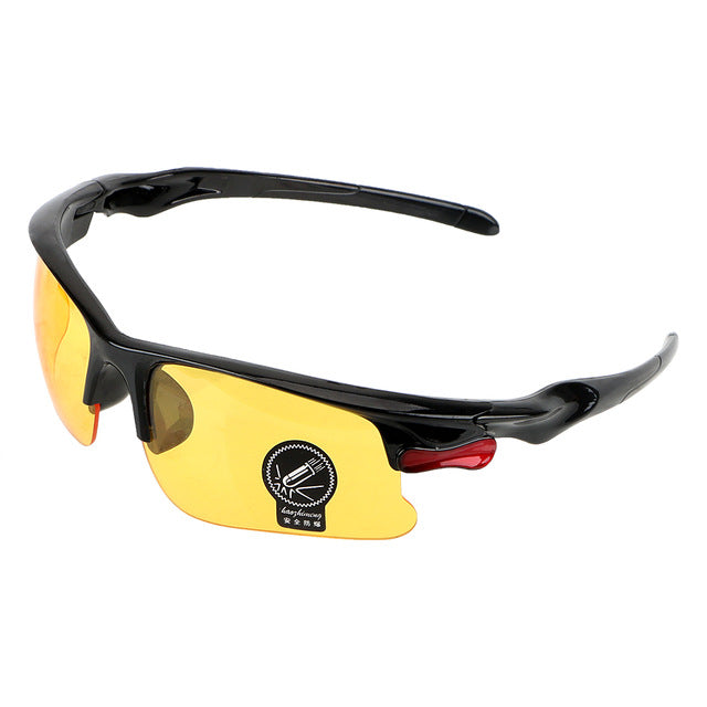 Night Vision Drivers Goggles Interior Accessory Protective Gears Sunglasses Night-Vision Glasses Anti Glare Car Driving Glasses - DealsNode