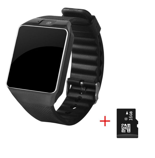 Cawono Bluetooth Smart Watch DZ09TF SIM Camera for IOS iPhone Samsung Huawei Xiaomi Android Phone - DealsNode