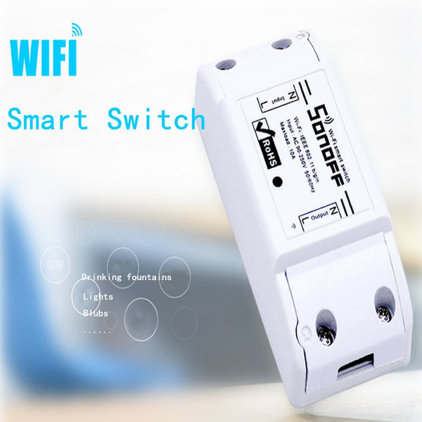 2/3/5/6/8/10PCS Sonoff Basic Smart Home Wifi Switch Wireless Remote Control Light Timer Switch DIY Modules 10A/2200W via Ewelink - DealsNode