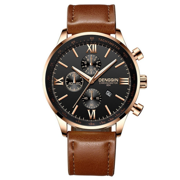 Fashion Military Classics Mens Watch Quartz Analog Canvas Band Casual Sports Watch - DealsNode